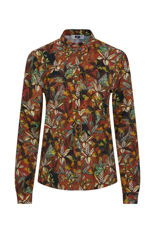 Dames blouse Donkerrood