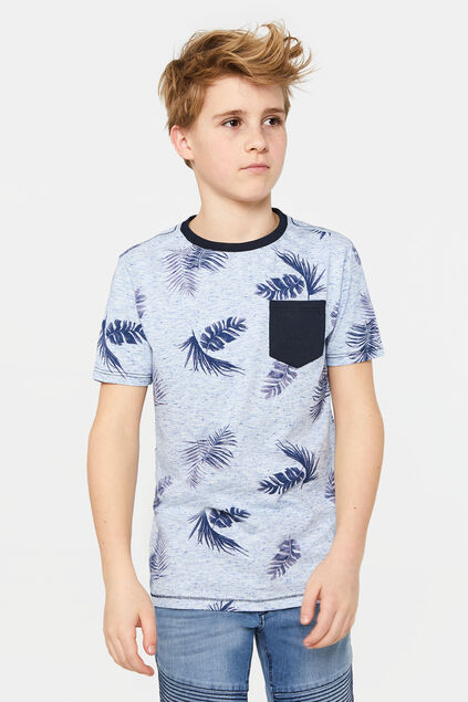 Jongens T-shirt met dessin All-over print