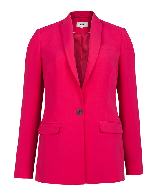 DAMES SLIM FIT BLAZER Roze
