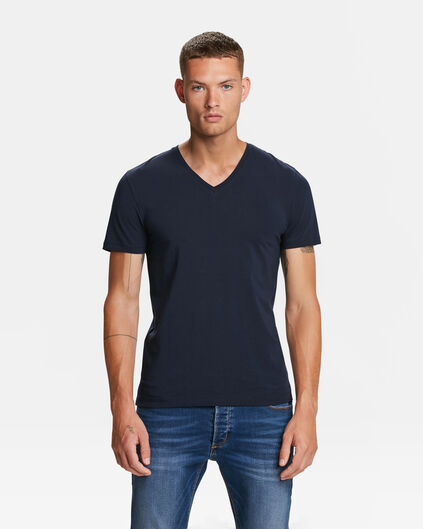 HEREN ORGANIC COTTON T-SHIRT Indigo