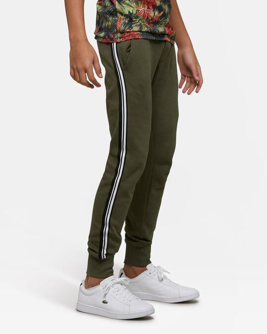 Jongens sweatpants Legergroen
