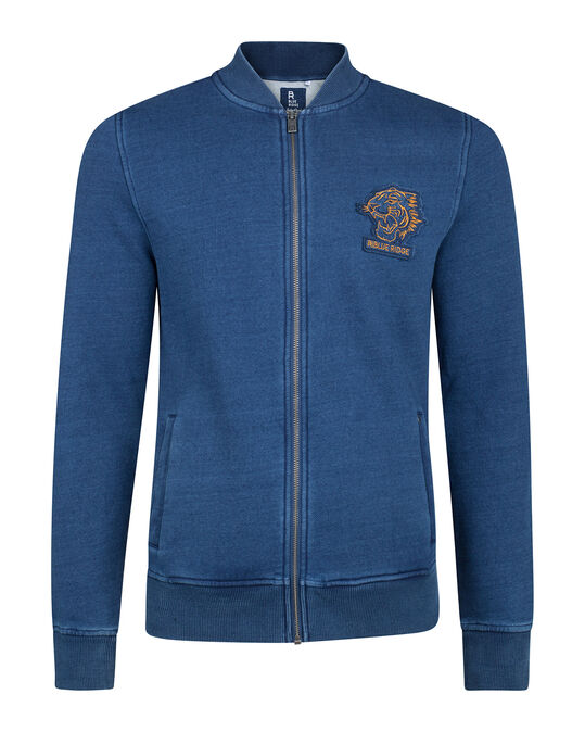 HEREN BLUE RIDGE SWEAT BOMBER Indigo