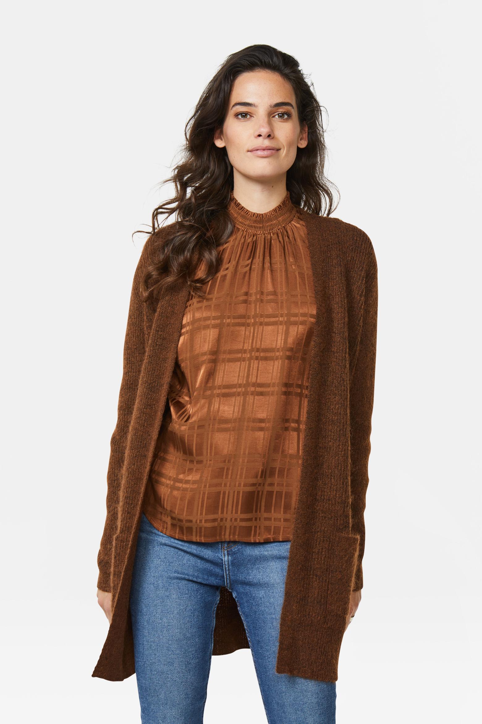 Dames geribd vest | 94797534 WE Fashion