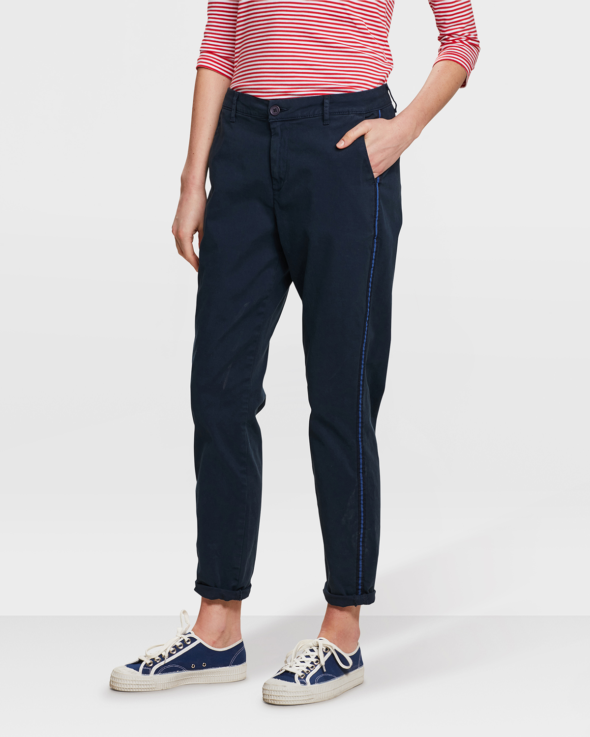 DAMES RELAXED FIT CHINO | 80753582 WE Fashion