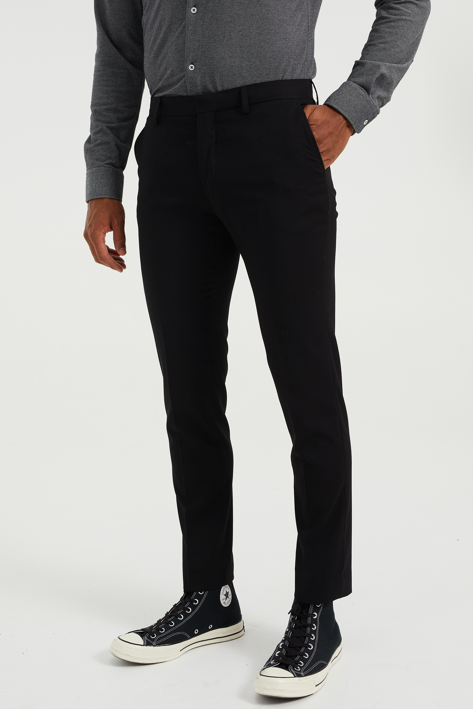 Heren slim fit pantalon Dali | 78757318 WE Fashion