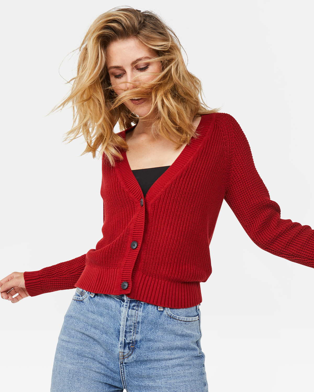 Dames geribd vest | 94701388 WE Fashion