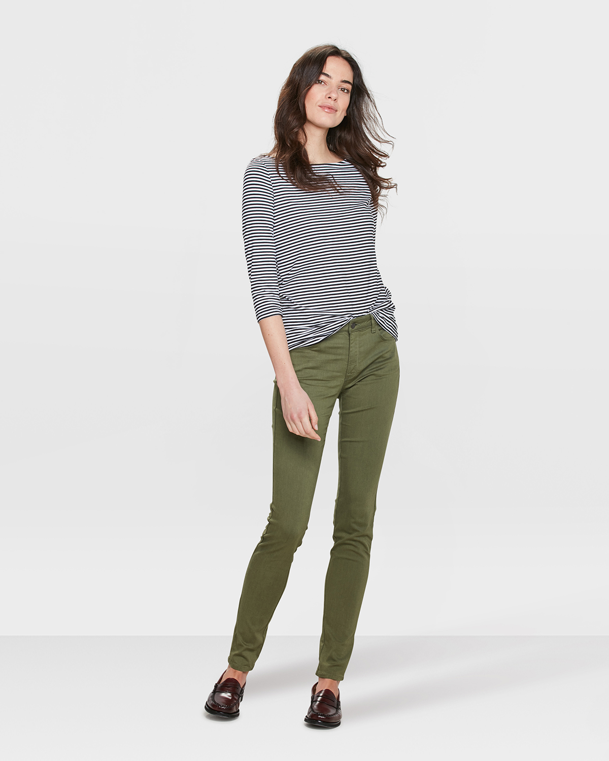 Dames mid rise skinny high stretch jeans | 82089276 WE Fashion