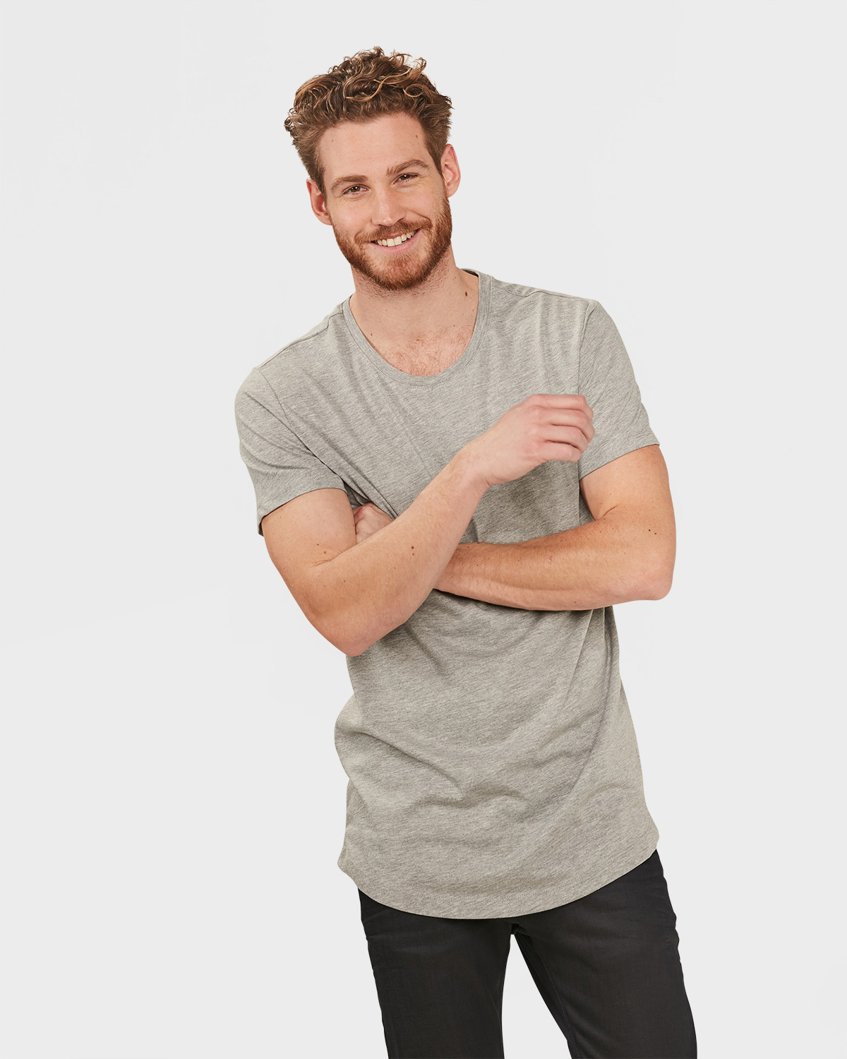 long fit t shirt