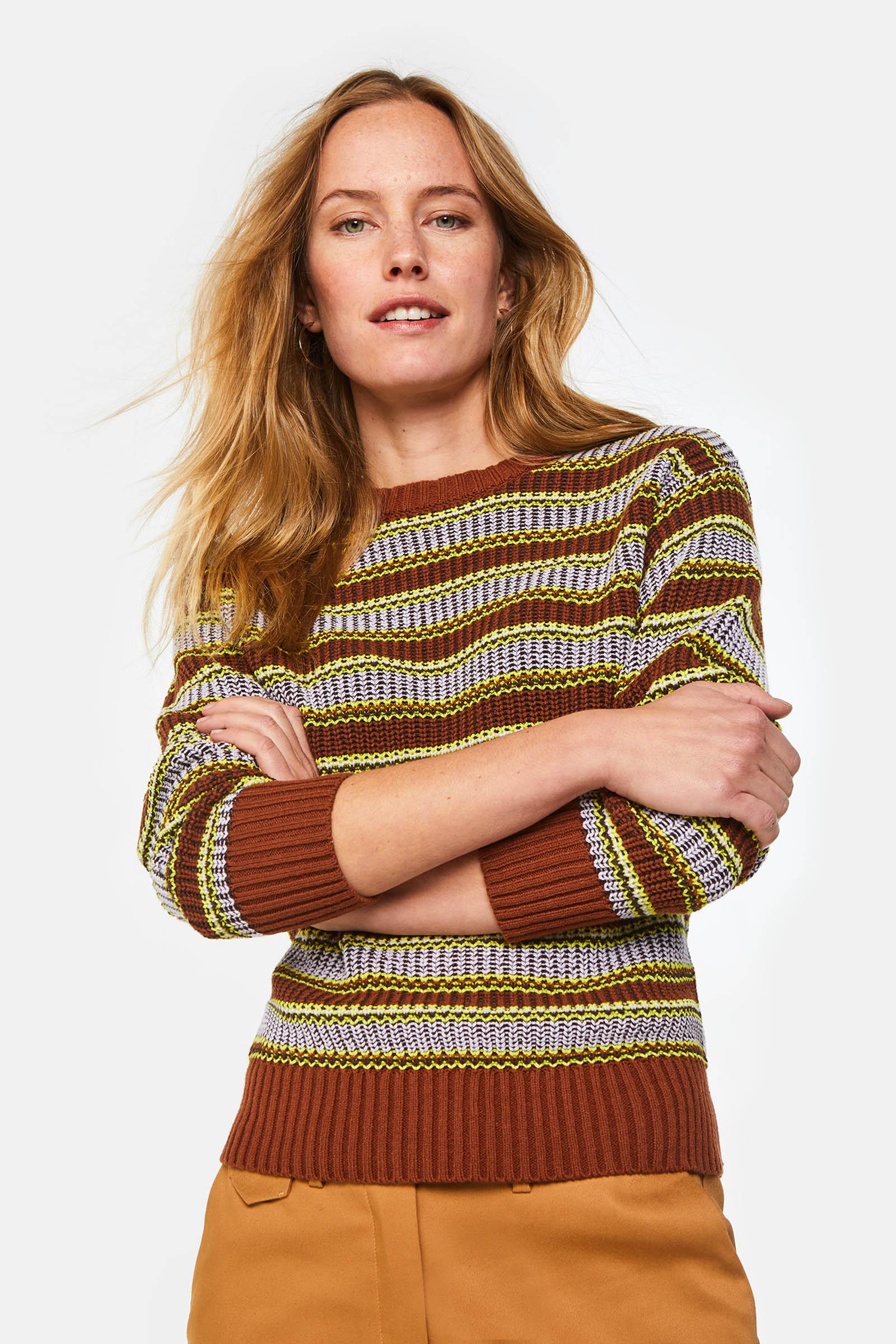 Dames gebreide trui | 94806496 WE Fashion