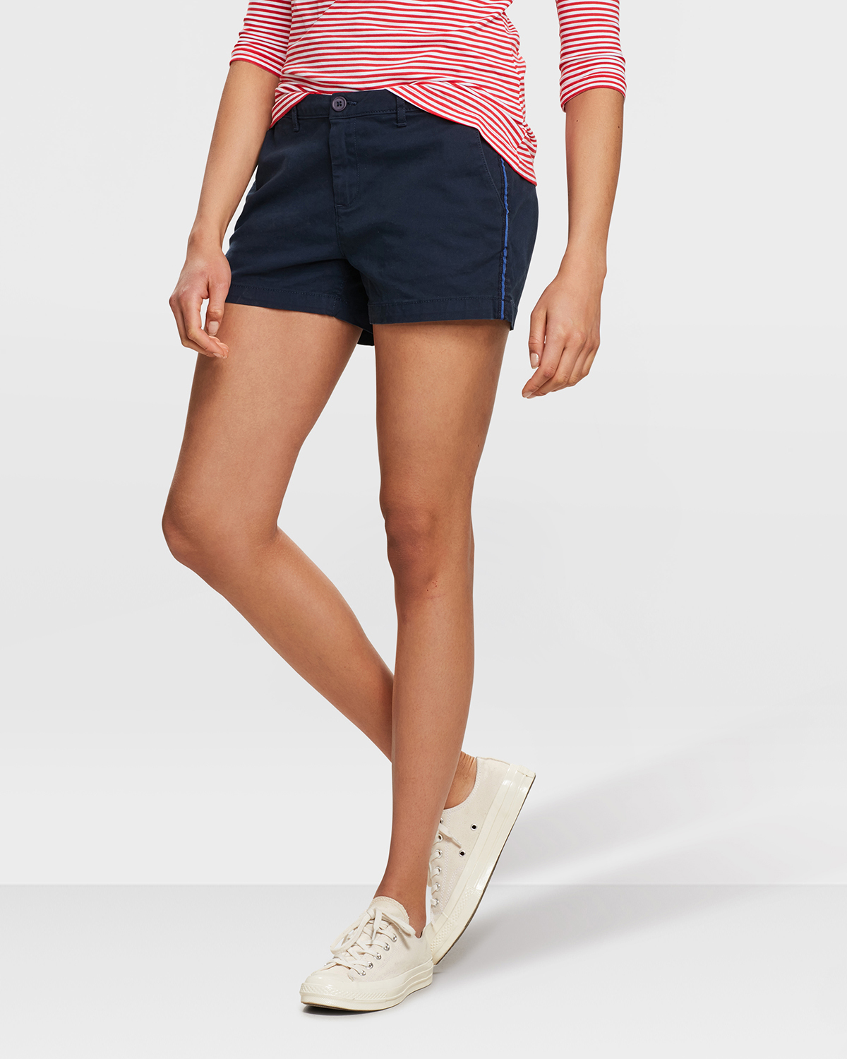 DAMES RELAXED FIT CHINO SHORT | 80753834 WE Fashion