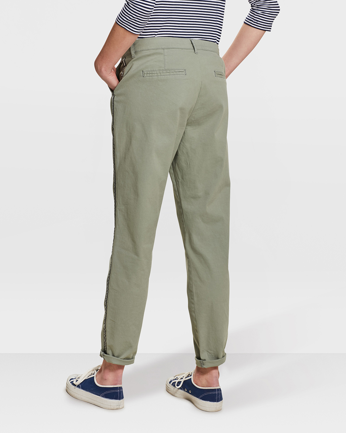 DAMES RELAXED FIT CHINO | 80753681 WE Fashion