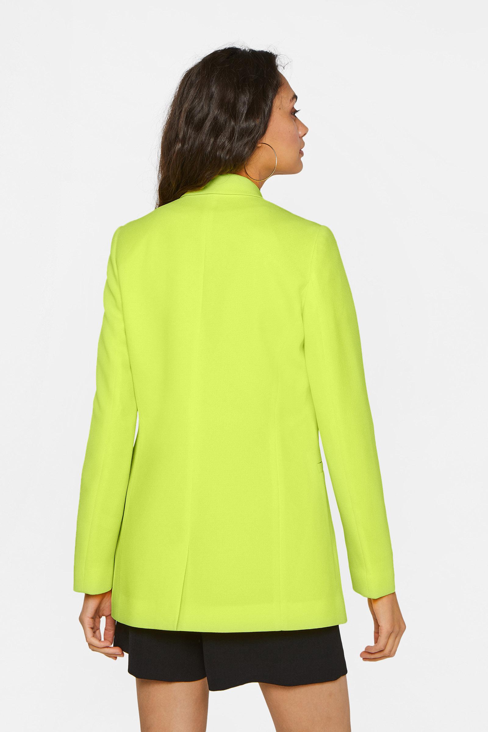 Dames regular fit blazer met structuur | 95064864 WE Fashion