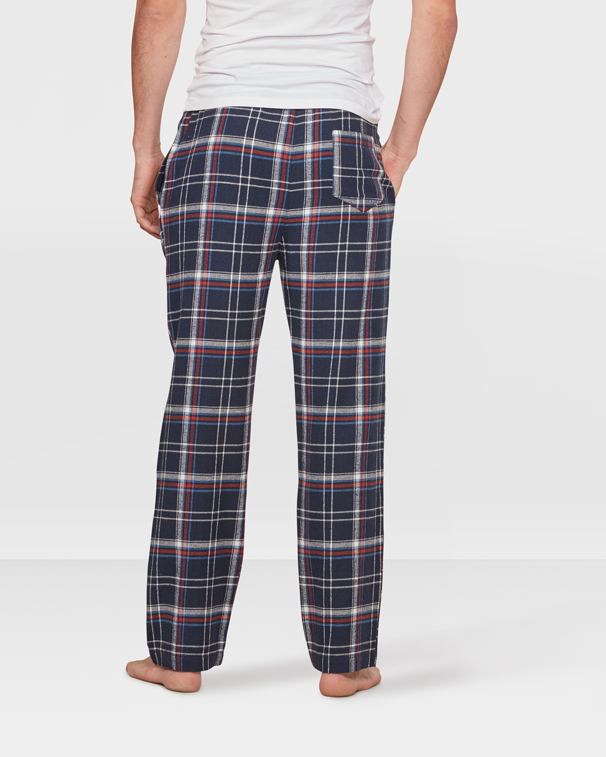 HEREN FLANEL CHECKED PYJAMABROEK | 79523387 WE Fashion
