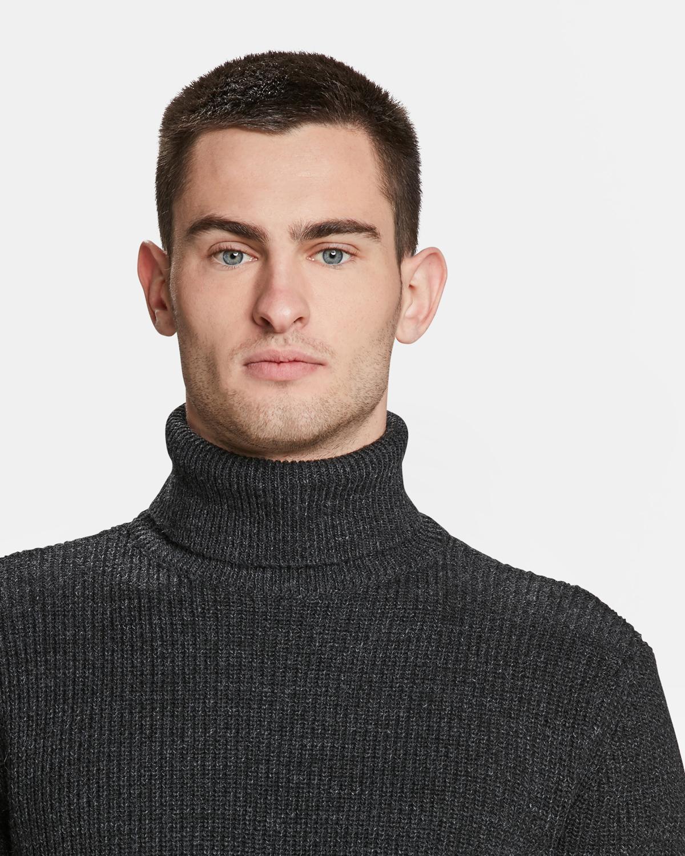 Heren gebreide rib trui | 94400052 WE Fashion