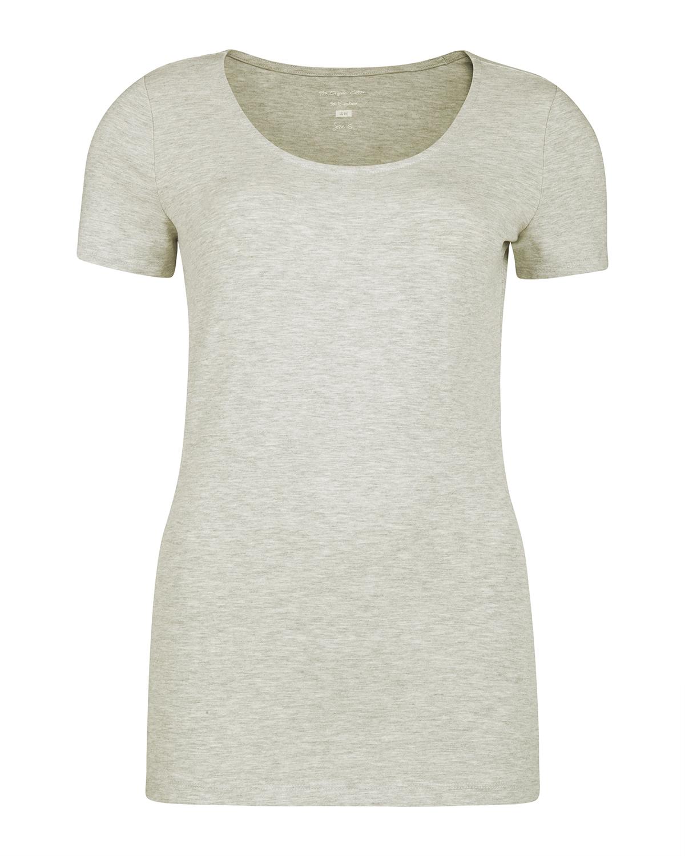 Dames organic cotton t shirt 79682626 we fashion for Natural cotton t shirts