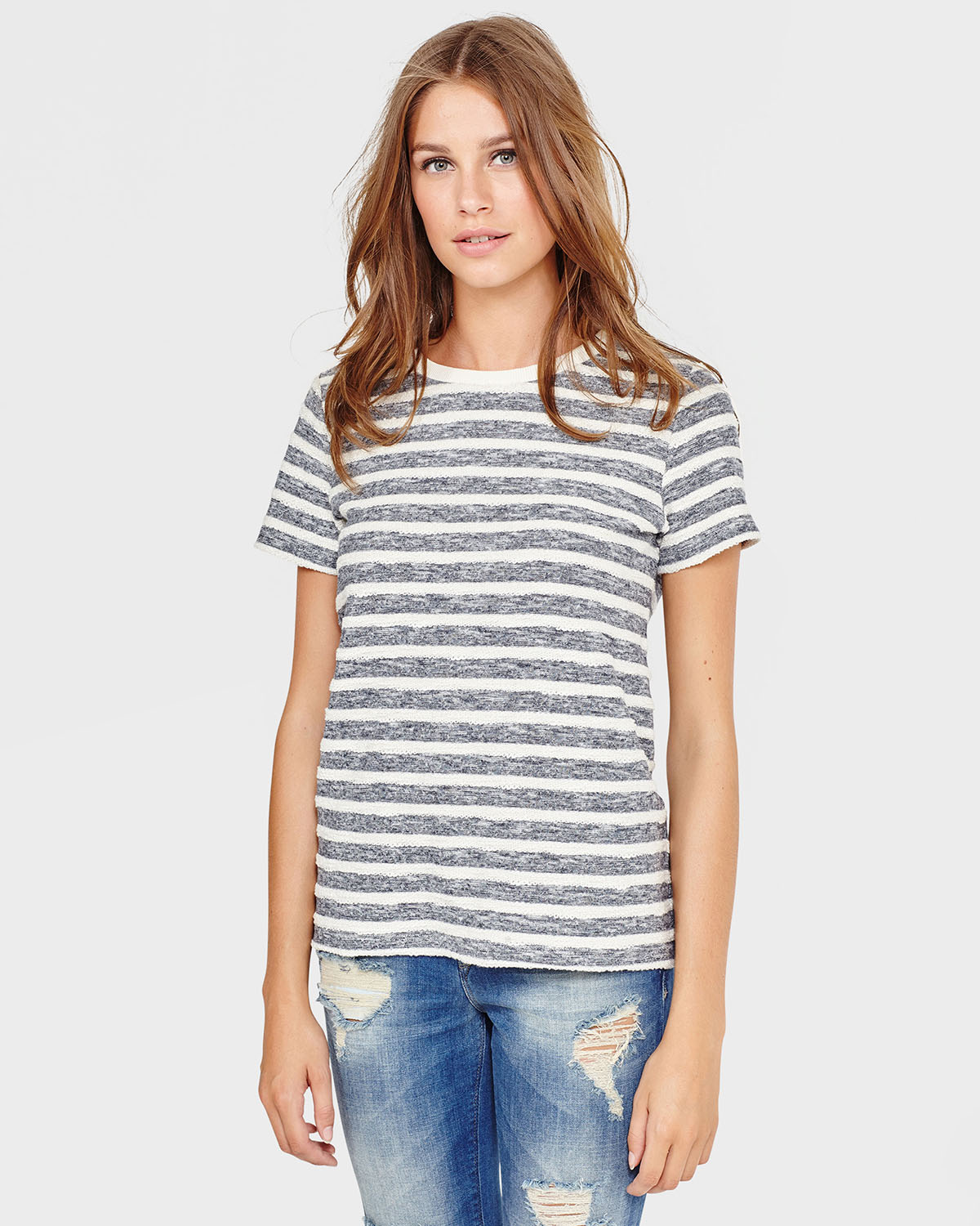 DAMES BLUE RIDGE STRIPE SWEATER | 79222051 WE Fashion