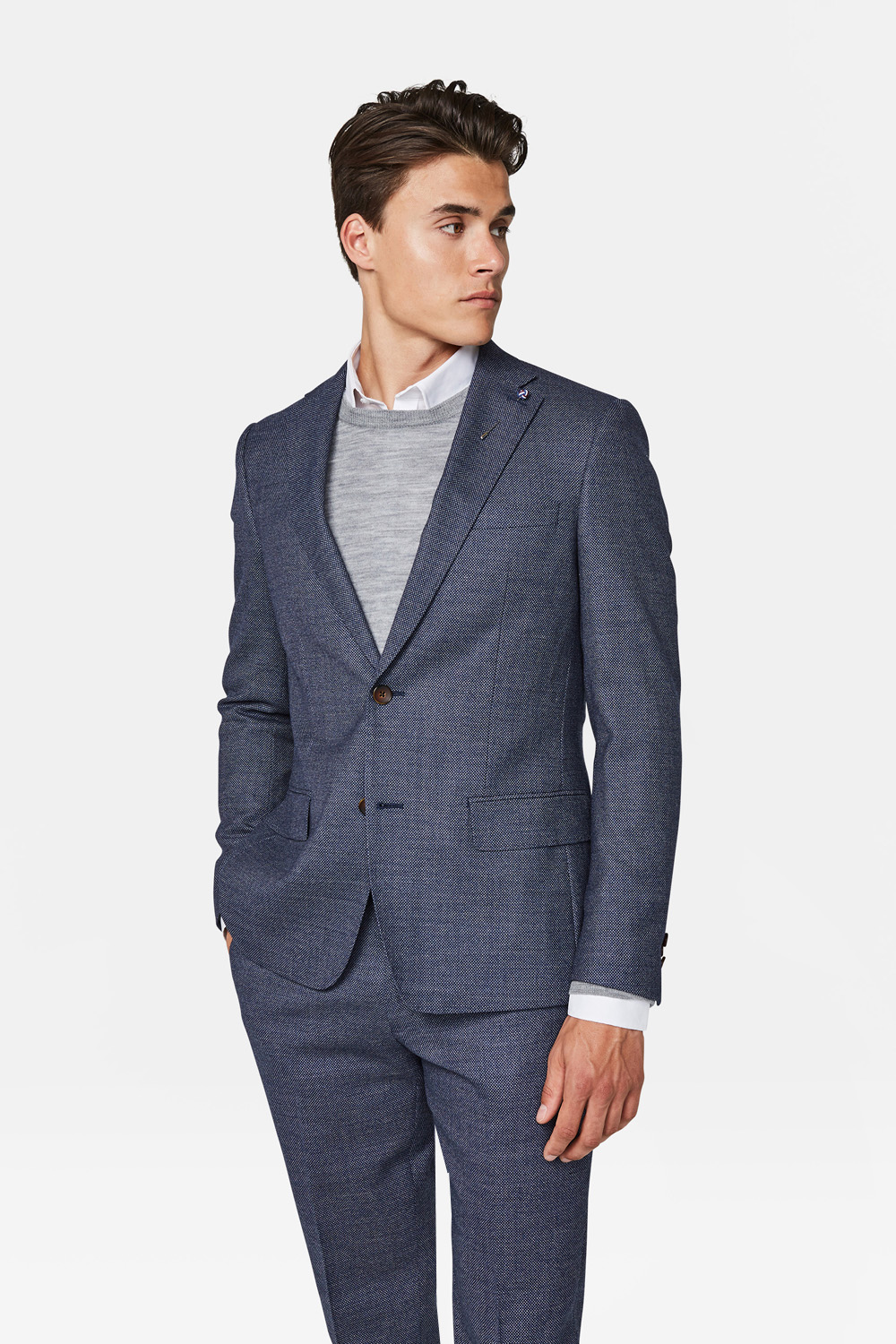 Heren regular fit blazer corvallis | 94541953 WE Fashion
