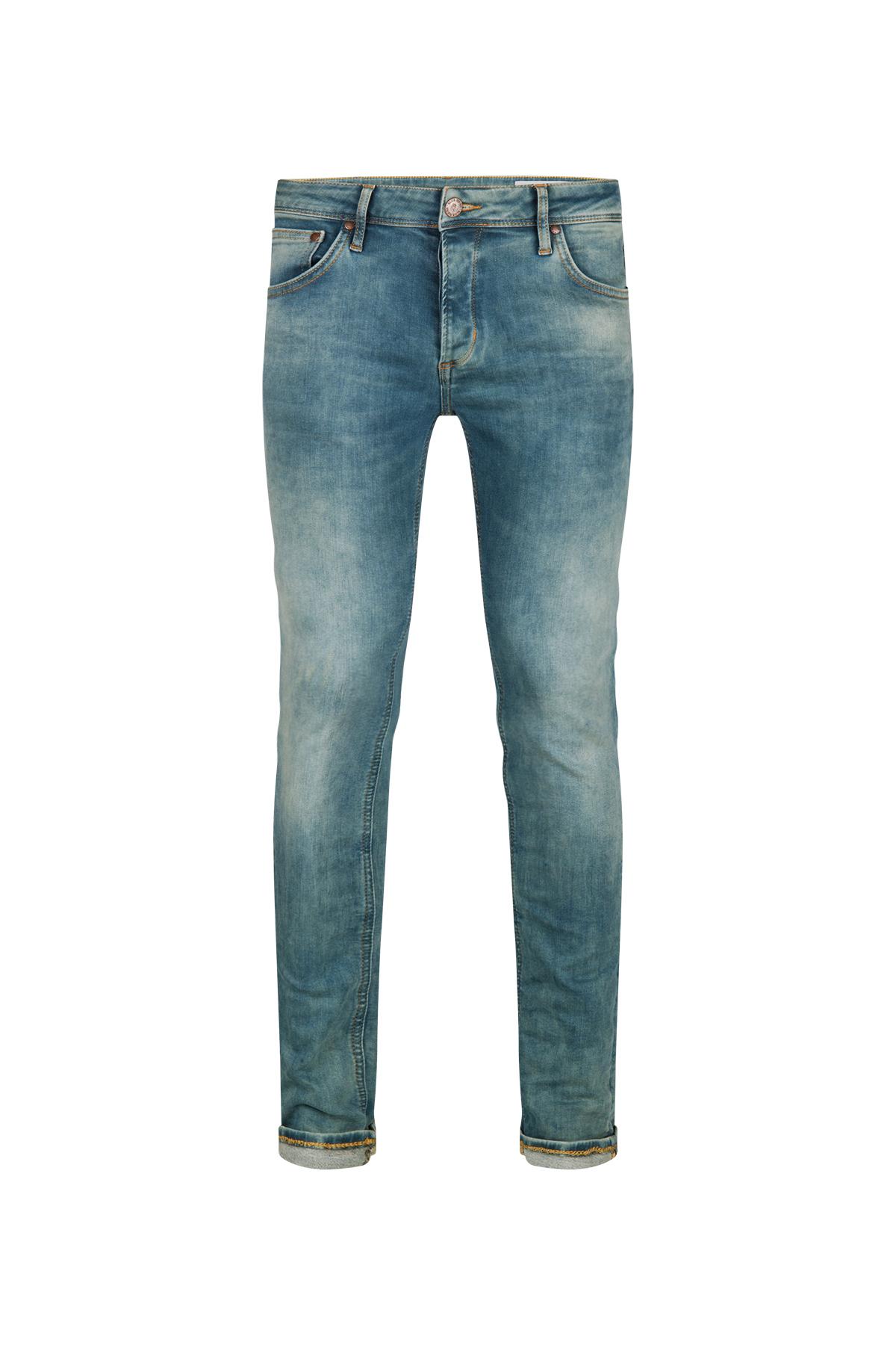 Heren slim fit super stretch jeans   81434527 WE Fashion