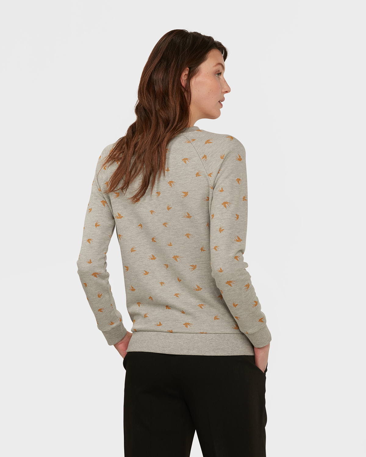 Dames Trui Met Print.Dames Bird Print Sweater 79766852 We Fashion
