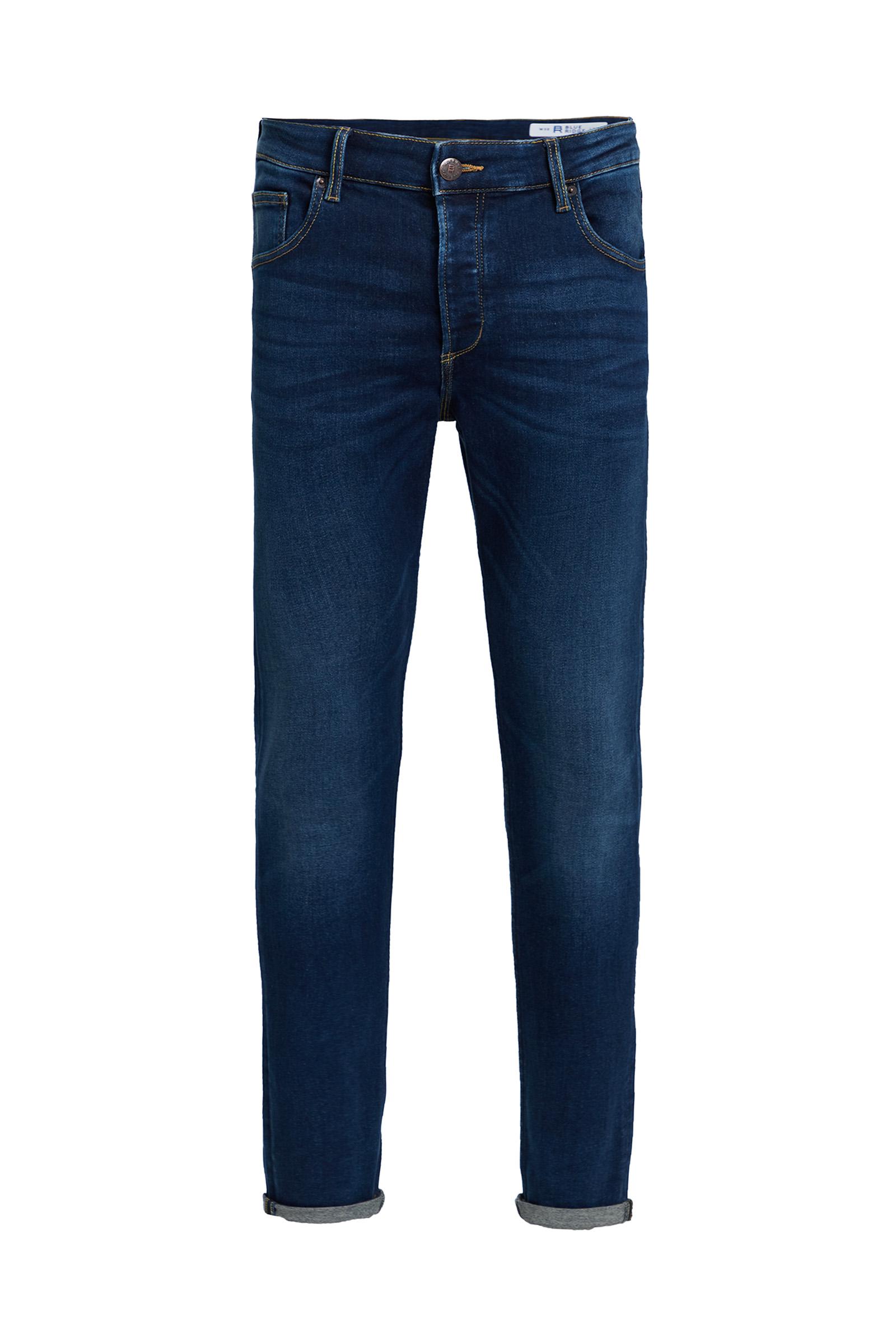 Heren skinny fit jog denim jeans | 95012179 WE Fashion