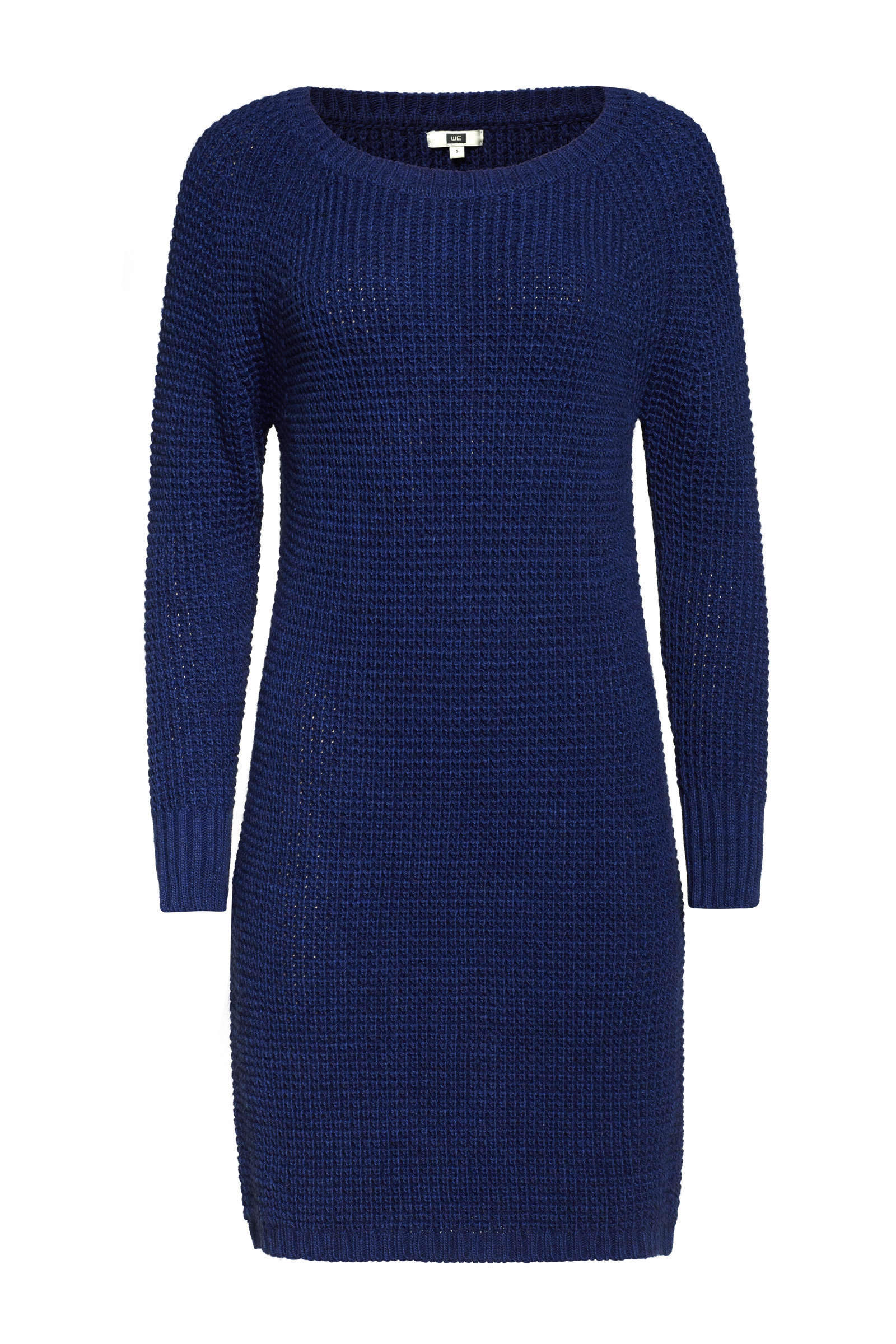 Dames gebreide trui jurk | 94953404 WE Fashion