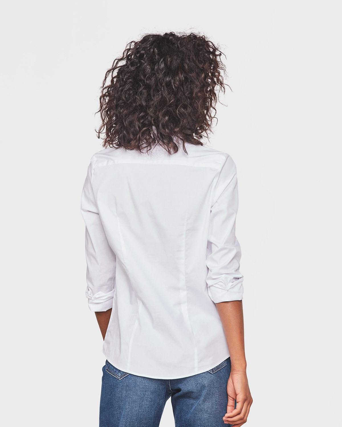 Dames Overhemd.Dames Stretch Blouse 79299176 We Fashion