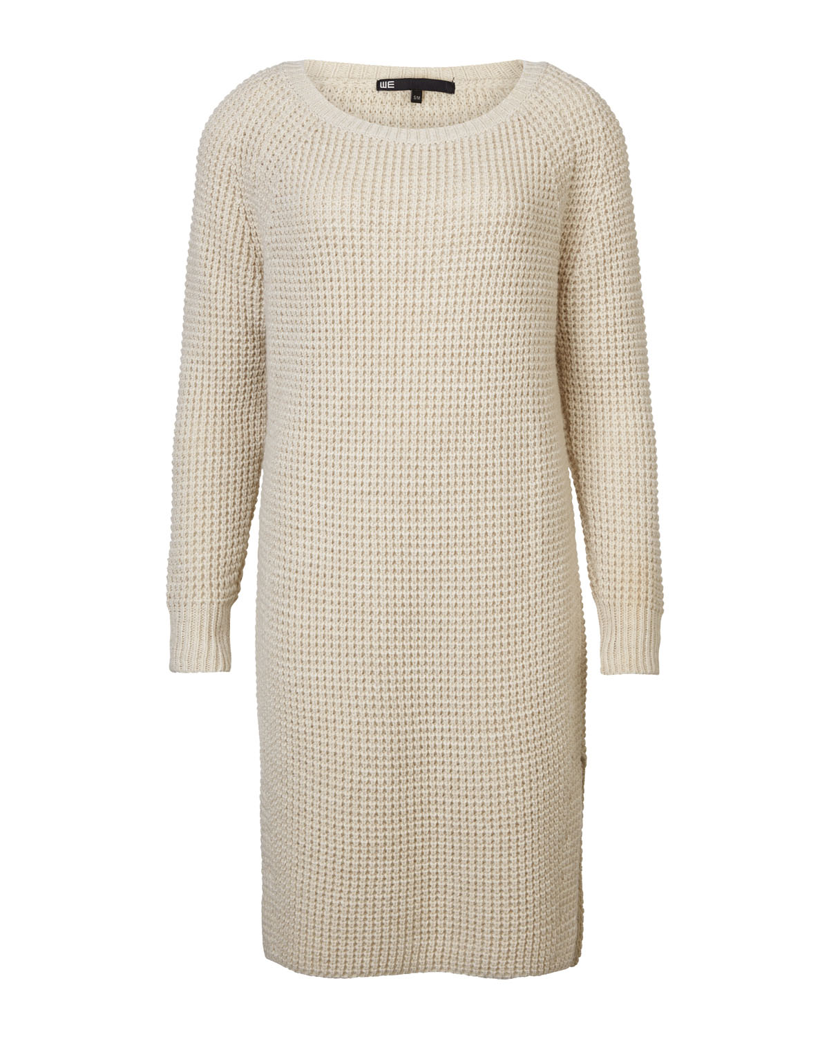 Jurk Trui.Dames Oversized Knit Jurk 79094115 We Fashion