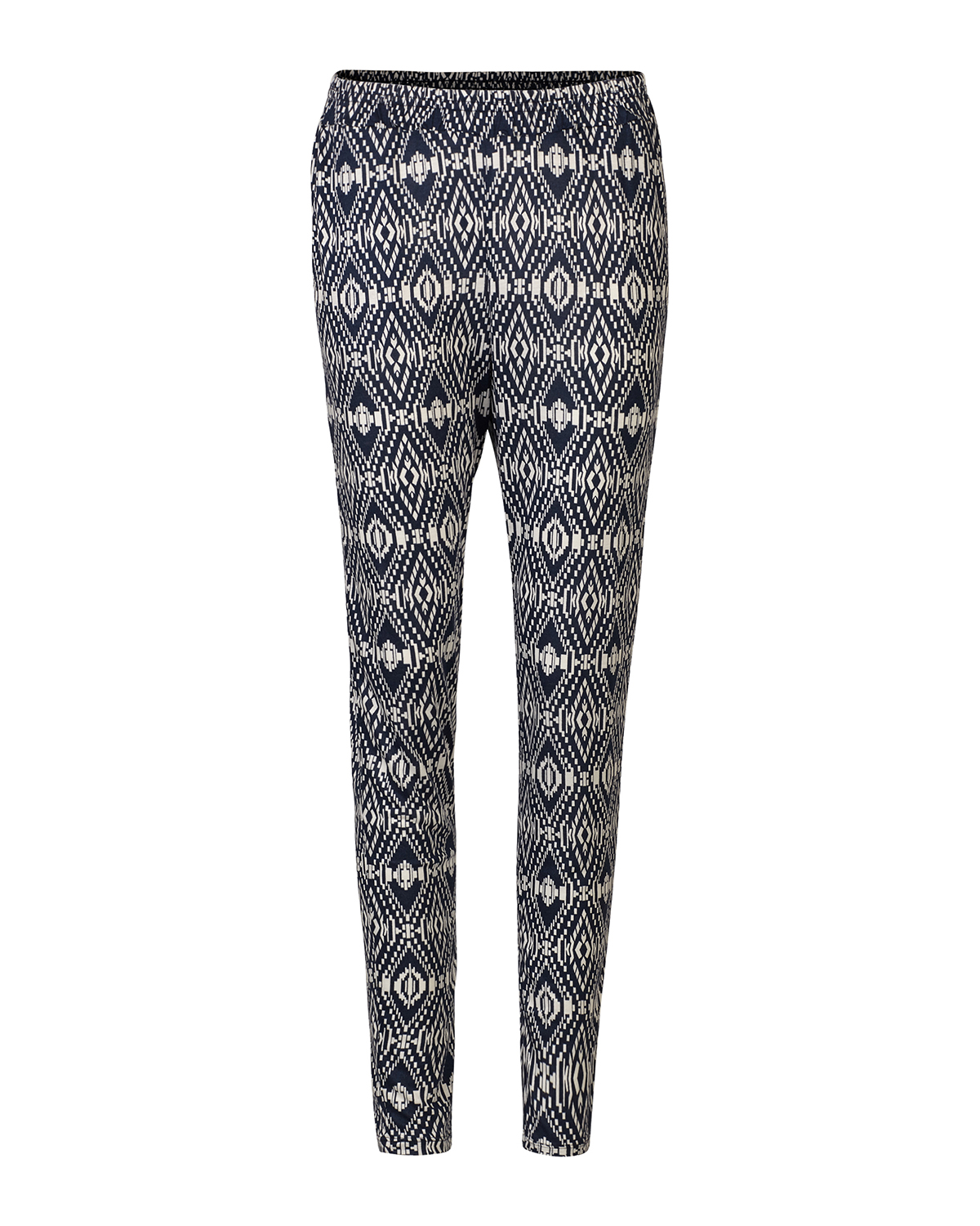 DAMES JERSEY ALL OVER PRINT BROEK | 79403009 WE Fashion