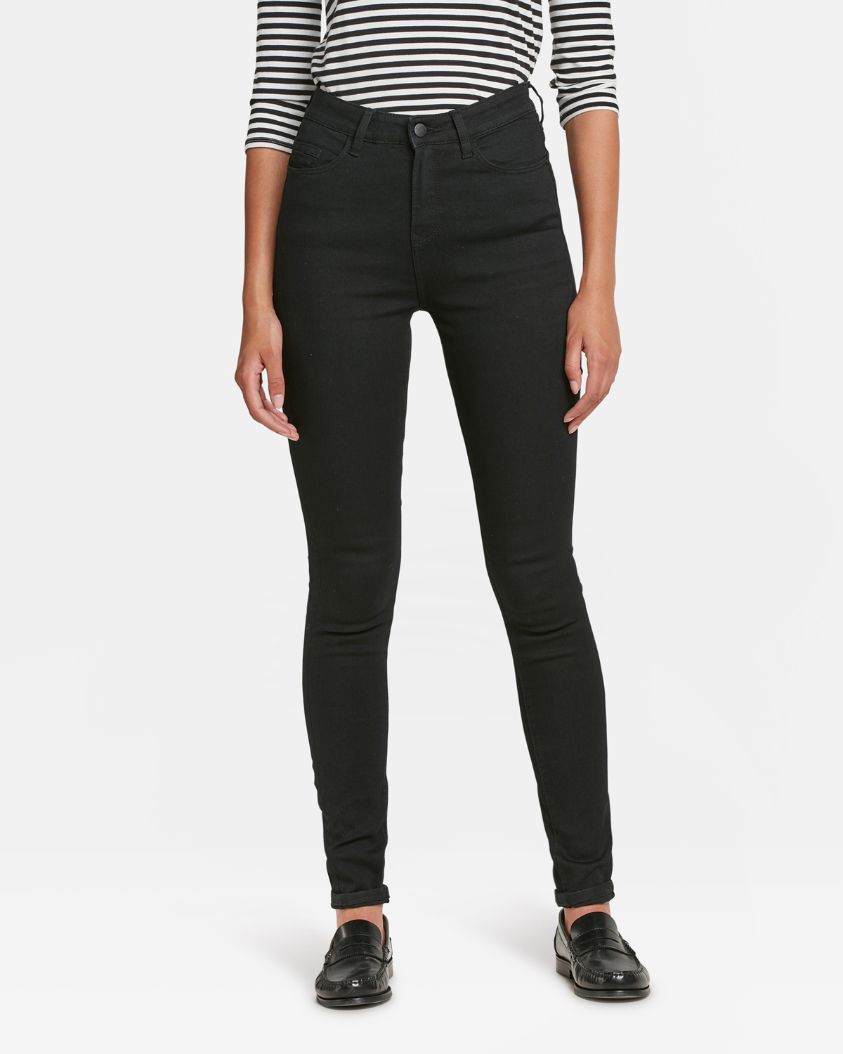 bf41820e914 DAMES HIGH RISE SKINNY COMFORT STRETCH JEANS | 79387668 - WE Fashion