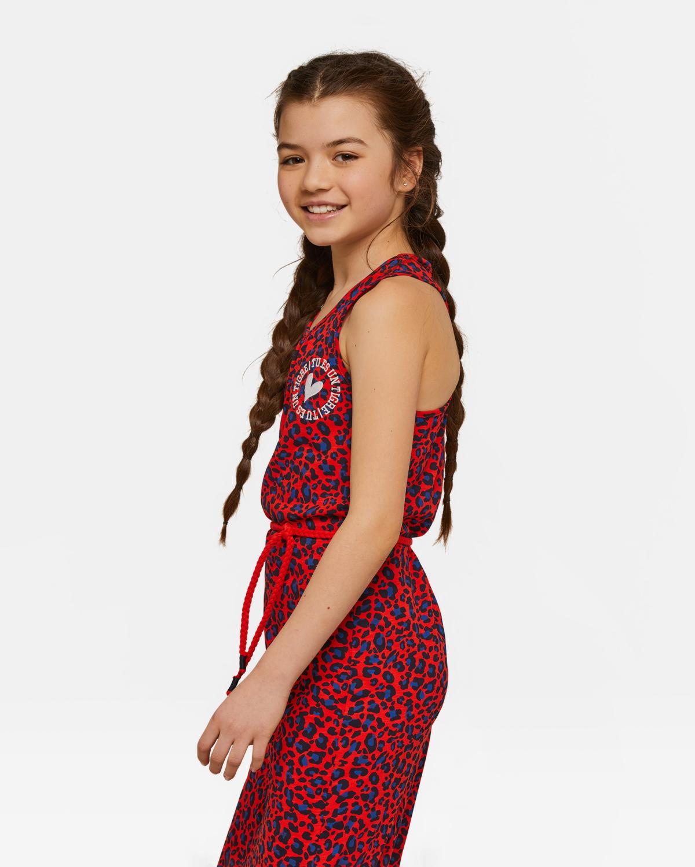 Ongekend Meisjes luipaarddessin maxi jurk | 94365887 - WE Fashion RR-13