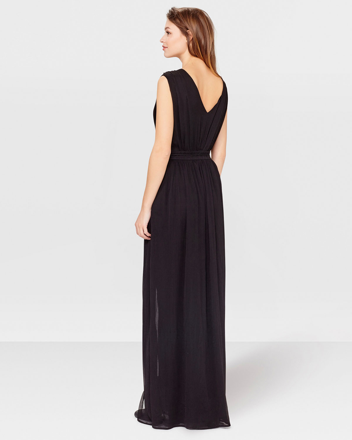 Maxi Jurk Zwart.Dames Maxi Dress 78965294 We Fashion