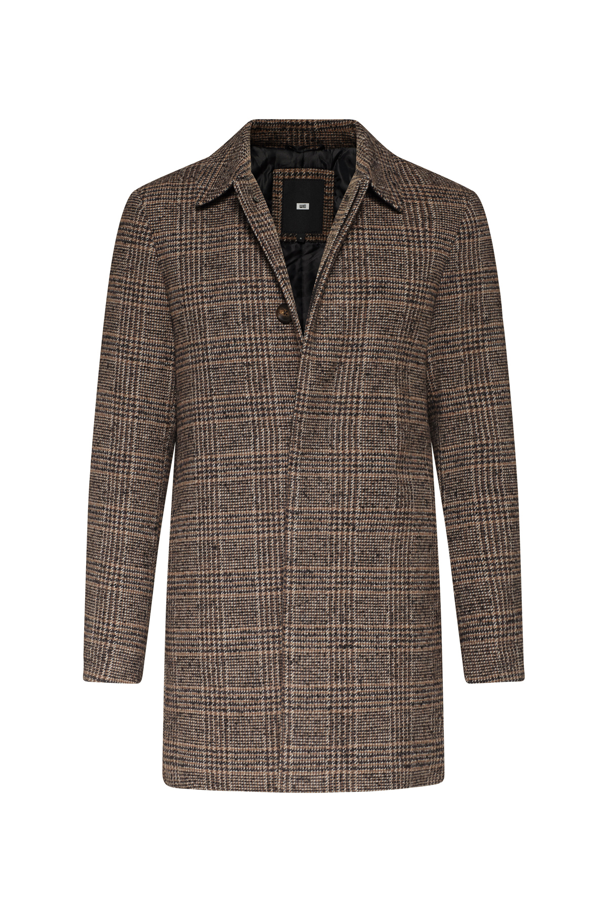 Heren geruite jas   94620726 WE Fashion
