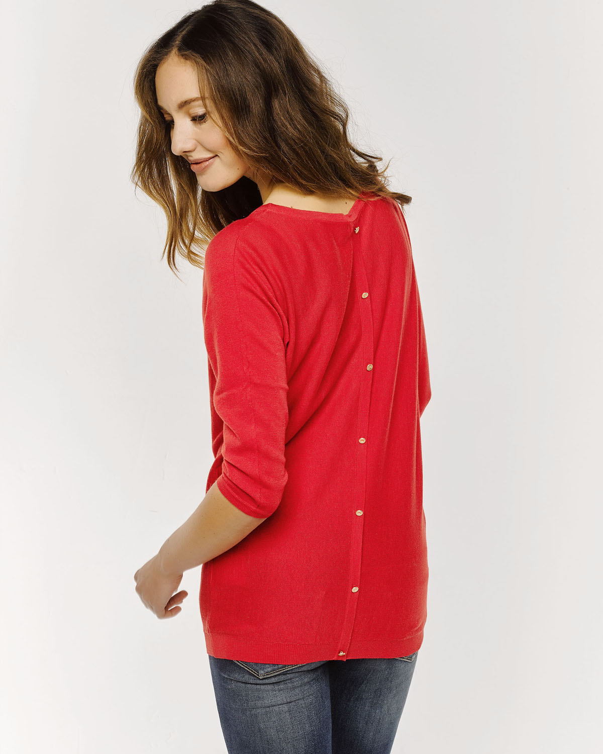 Trui Rood Dames.Dames Oversized Knit Trui 78671911 We Fashion