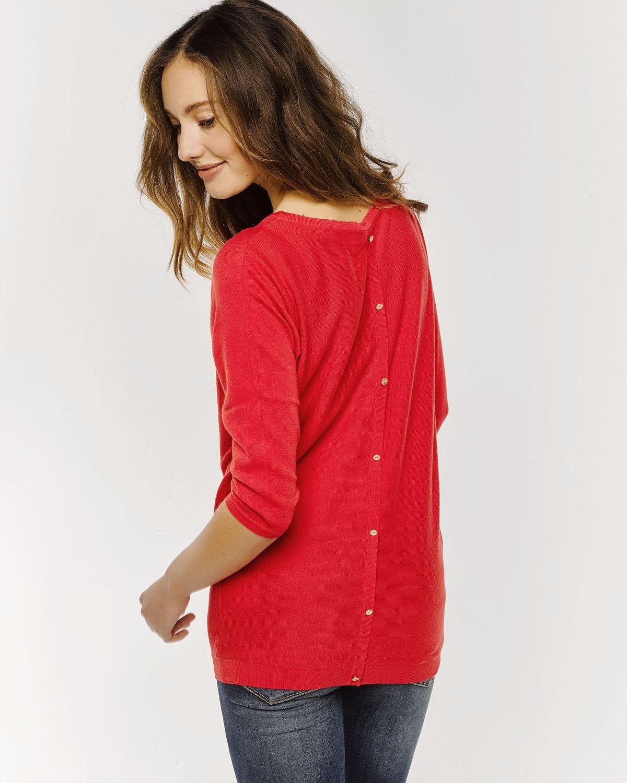 Trui Rood.Dames Oversized Knit Trui 78671911 We Fashion