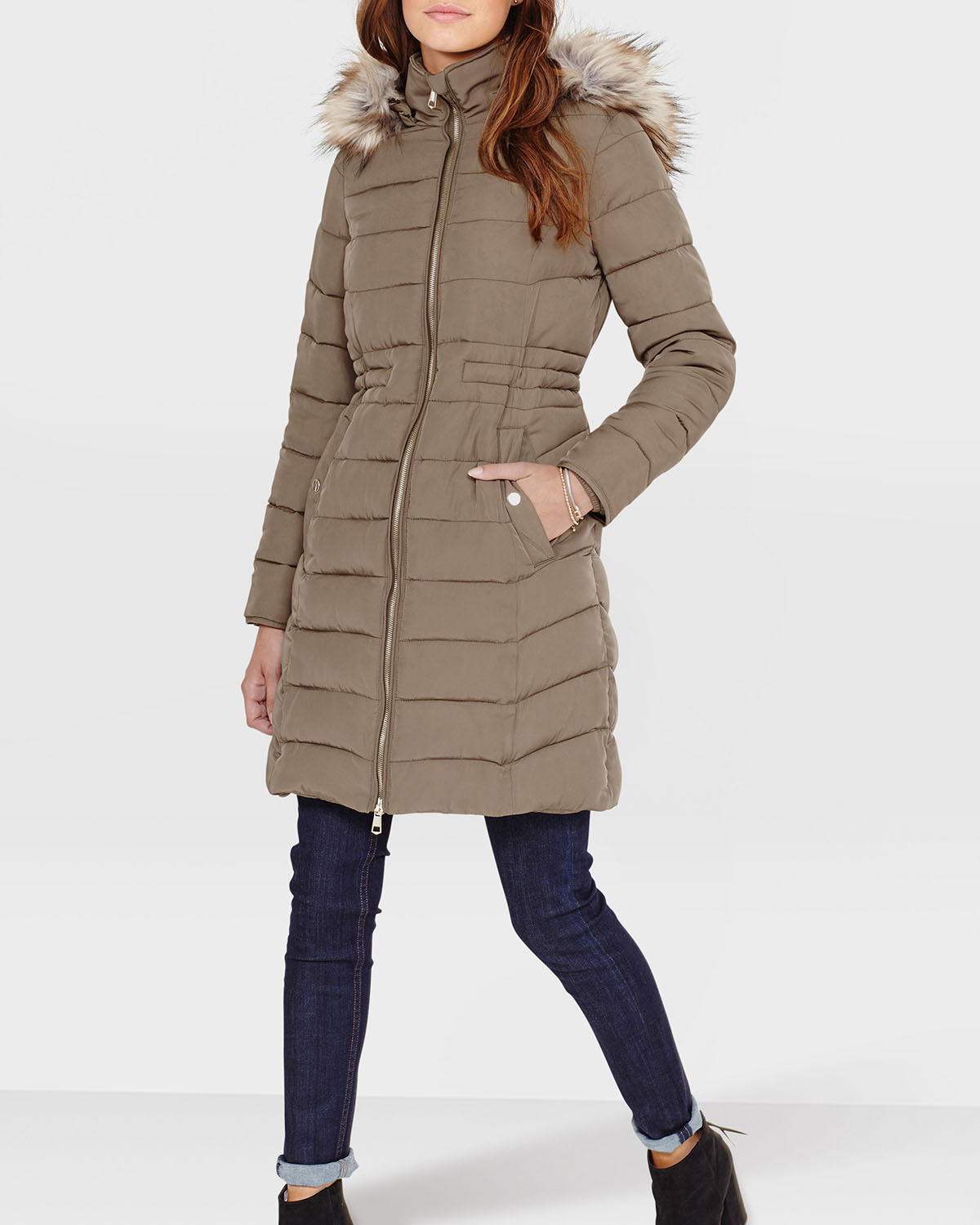 Lang Winterjas Dames.Dames Jas 78834002 We Fashion