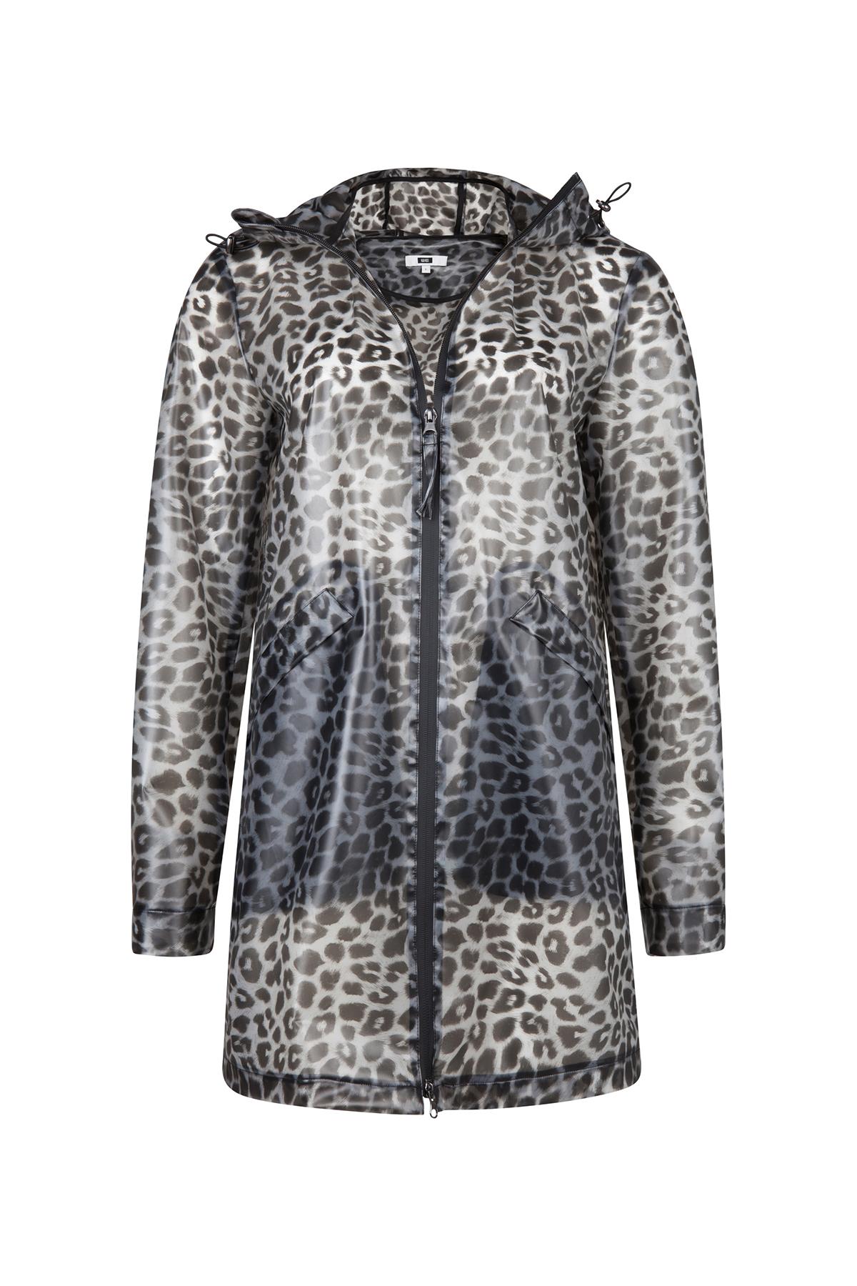 Dames luipaardprint regenjas | 94339192 WE Fashion
