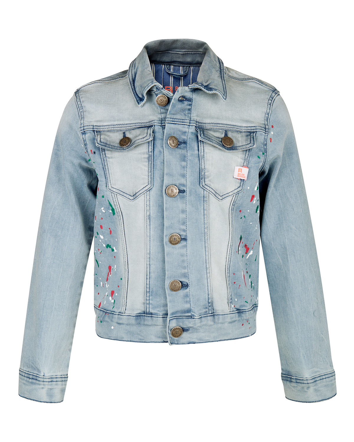MEISJES SPLASHES DENIM JACKET | 80484875 WE Fashion