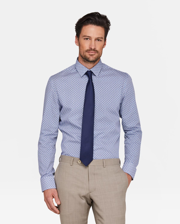 Skinny Fit Overhemd.Heren Slim Fit Overhemd 94391275 We Fashion