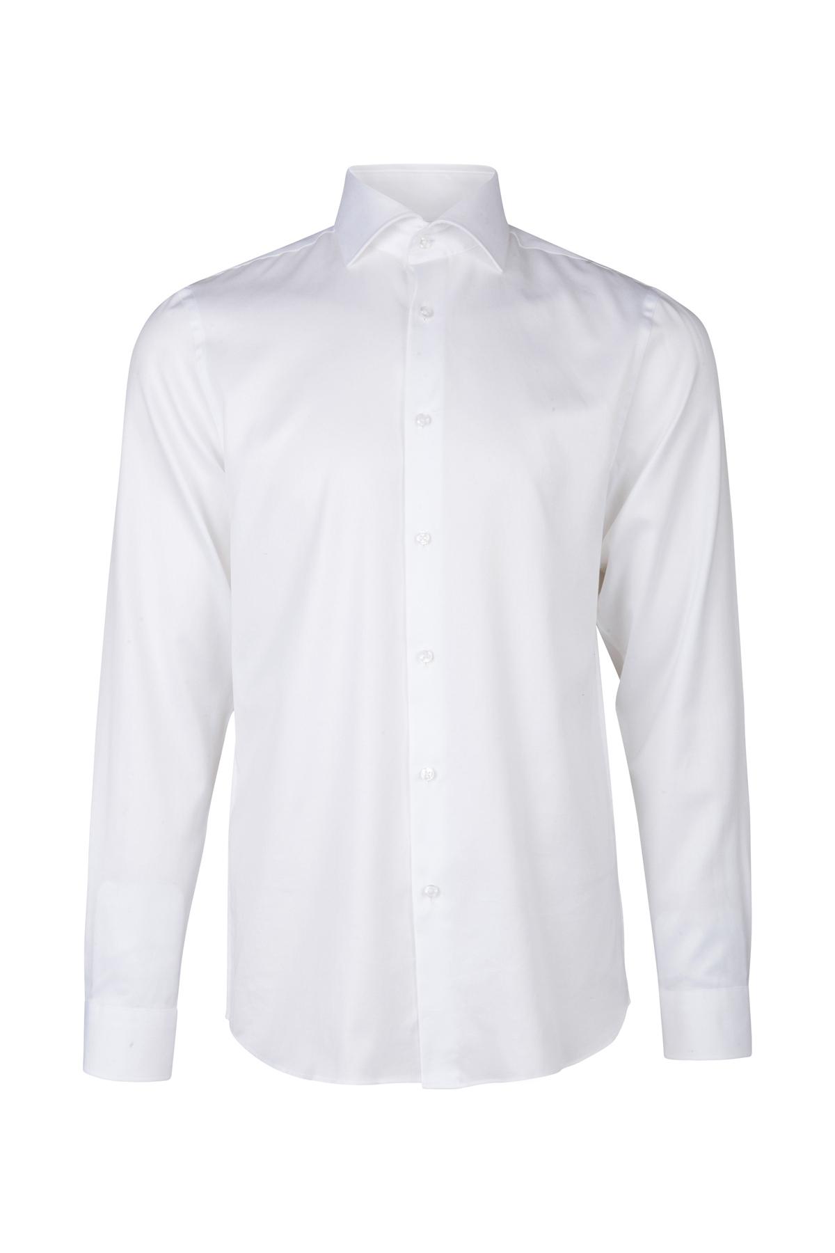 Katoenen Overhemd Heren.Heren Regular Fit Luxueus Katoenen Overhemd 79032612 We Fashion