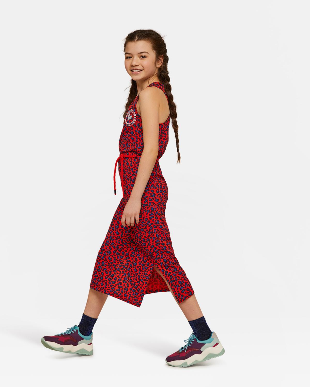 Betere Meisjes luipaarddessin maxi jurk | 94365849 - WE Fashion GC-84