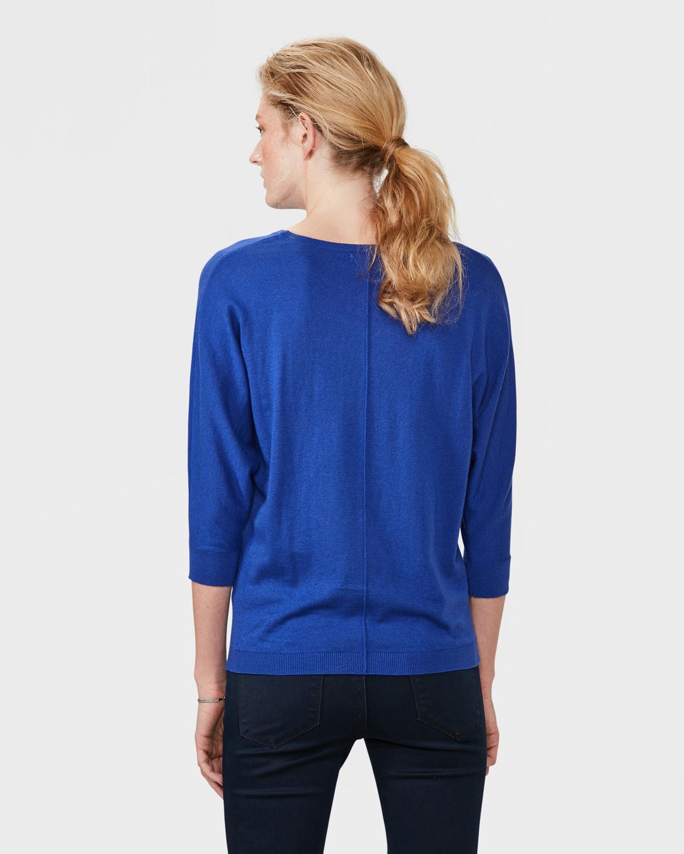 Trui Dames Blauw.Dames Oversized Knit Trui 79320108 We Fashion