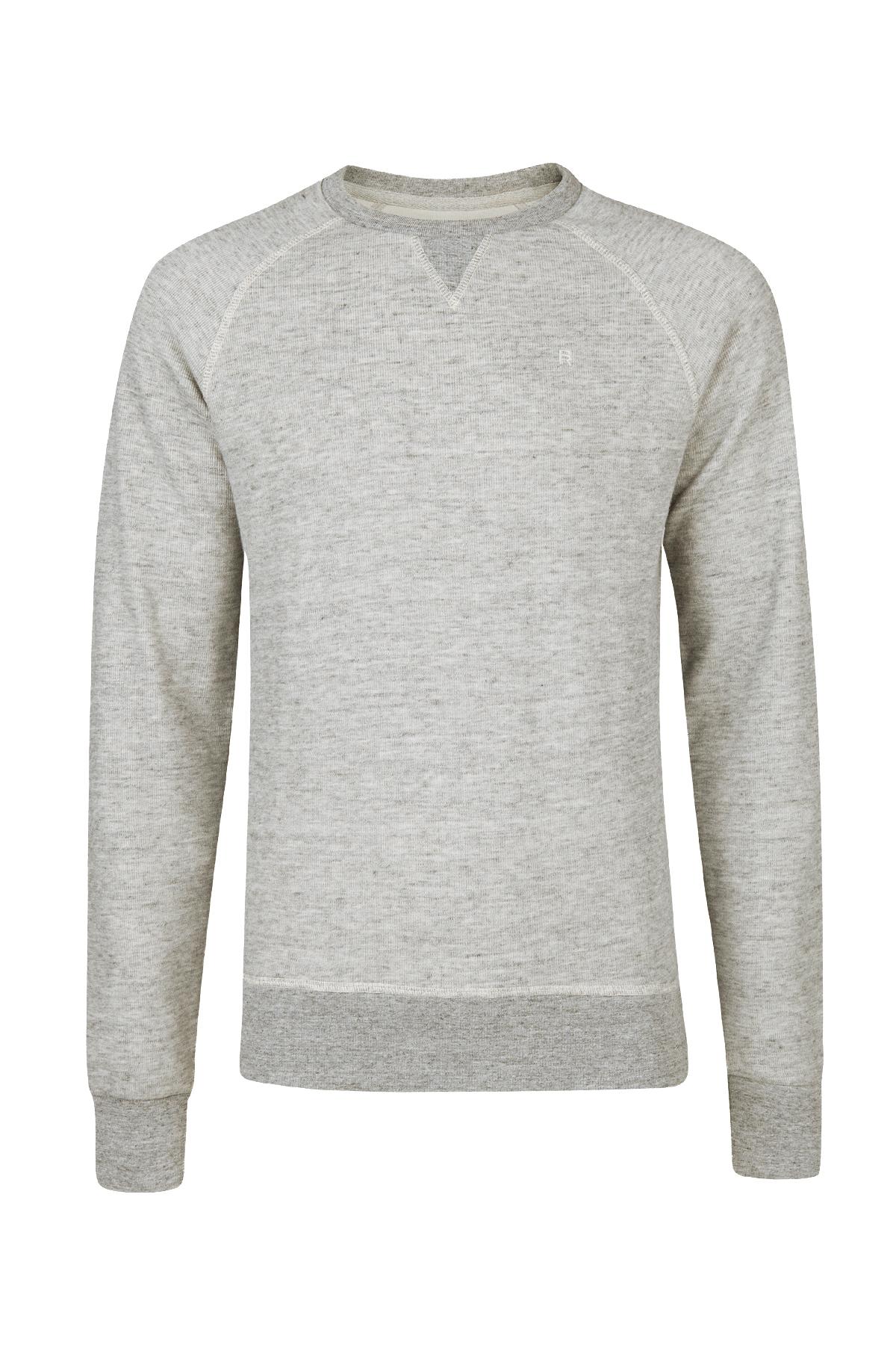 376197bbc85 Heren gemeleerde sweater   94449846 - WE Fashion