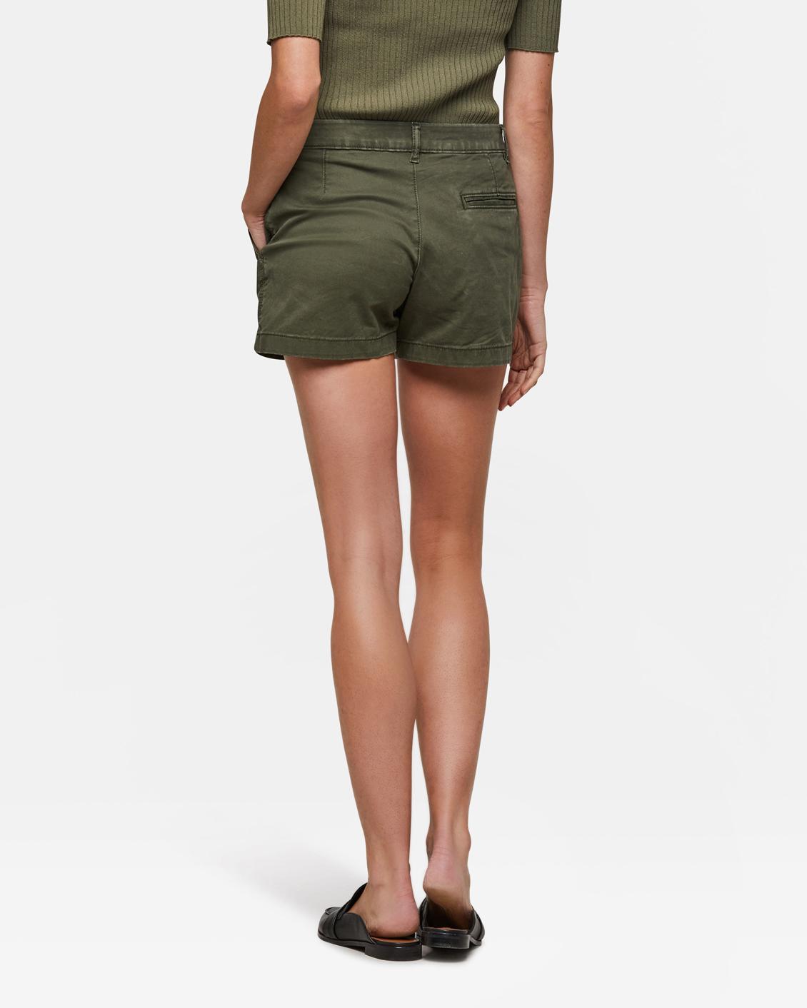 Camouflage Korte Broek Dames.Dames Slim Fit Chino Short 94224115 We Fashion