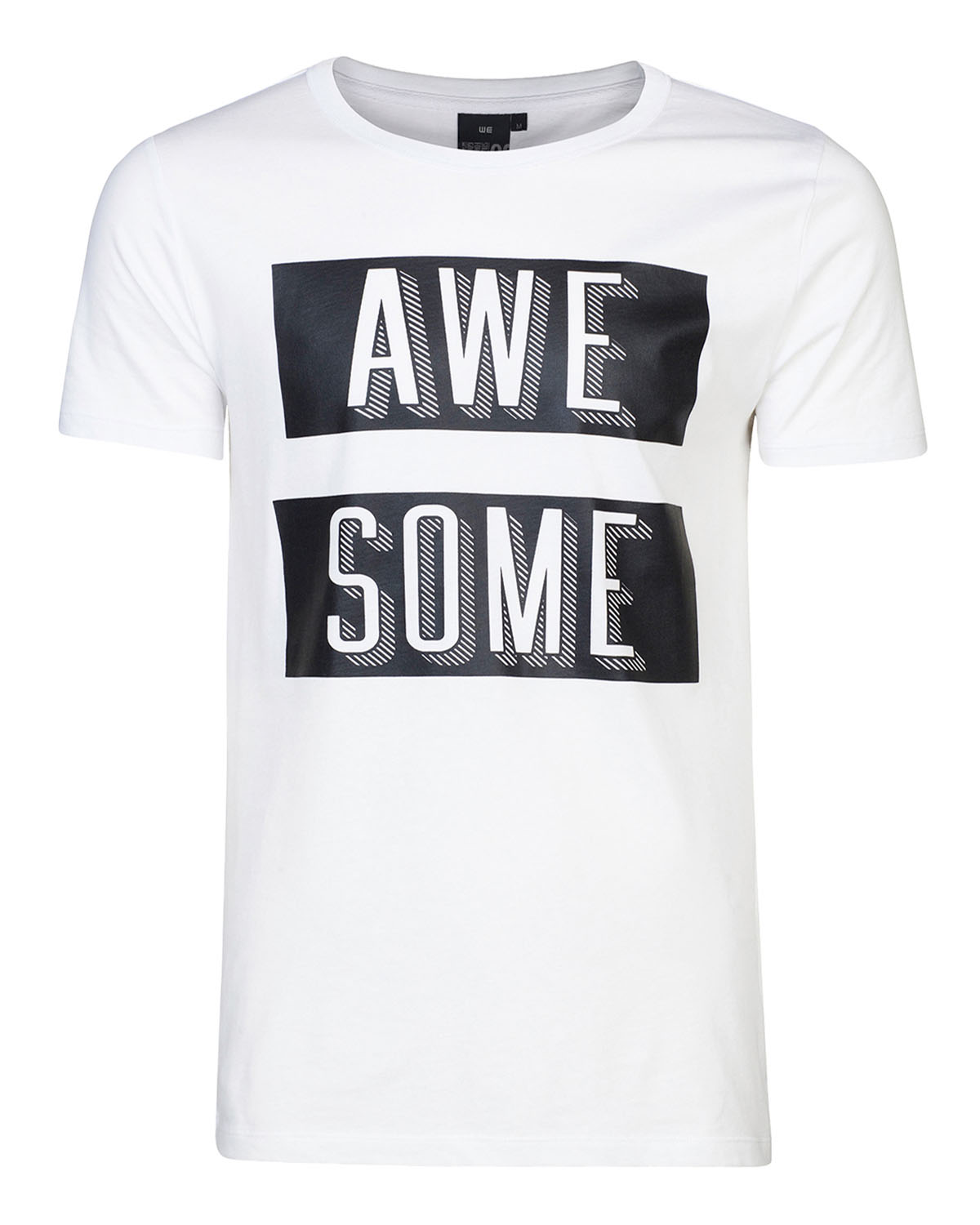 Heren awesome print t shirt 79280921 we fashion for T shirt printing sites