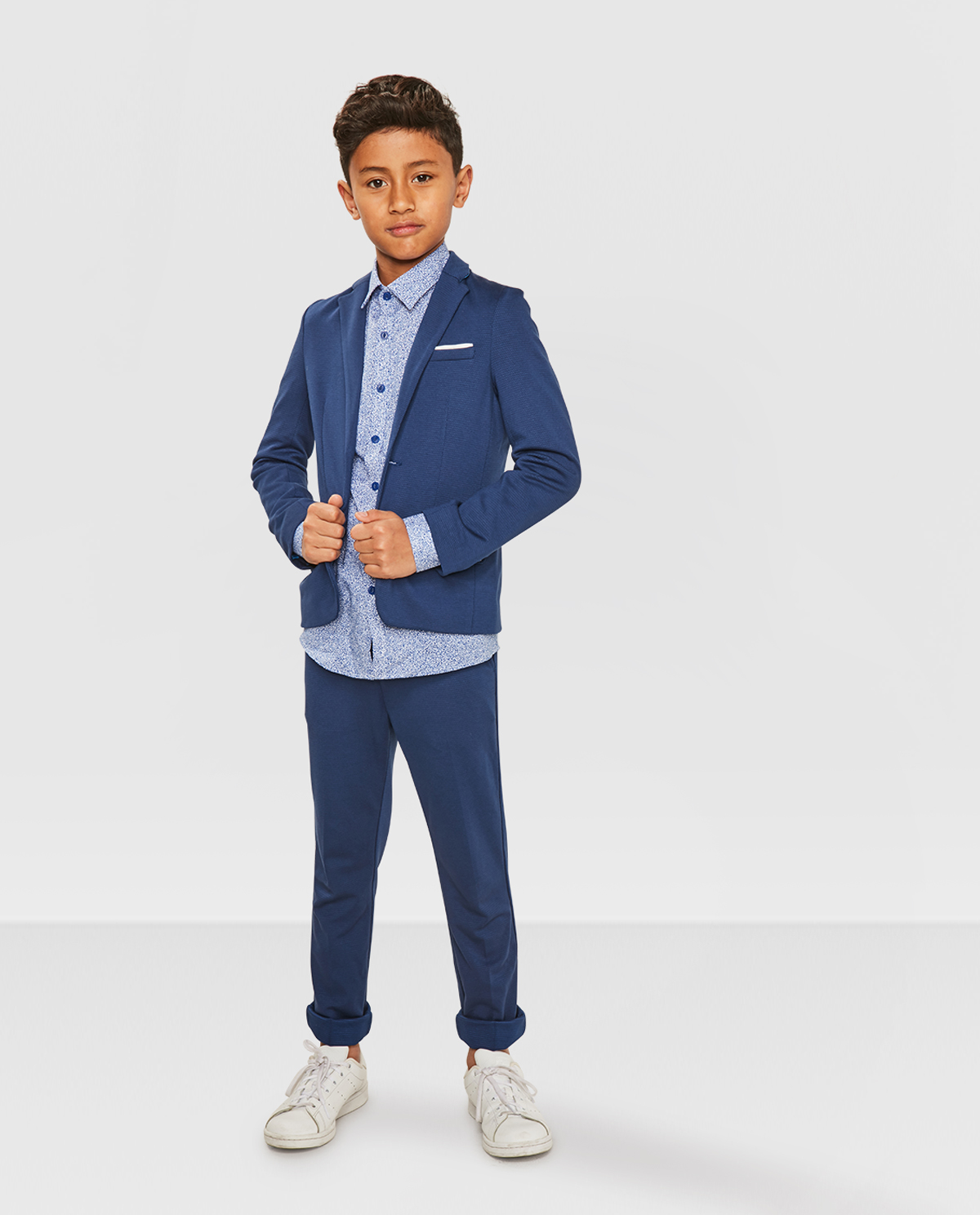 JONGENS REGULAR FIT KOSTUUM BLAZER | 80390947 WE Fashion