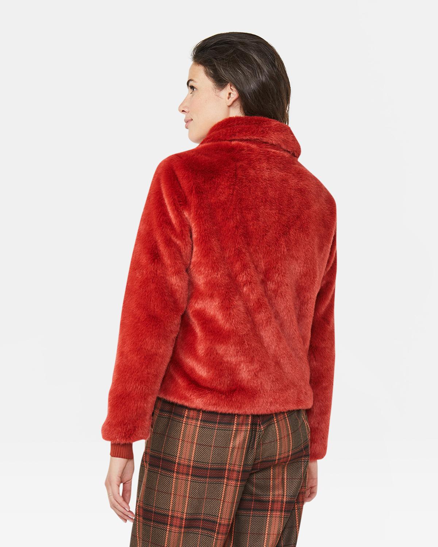 DAMES FAUX FUR JAS   91825278 WE Fashion