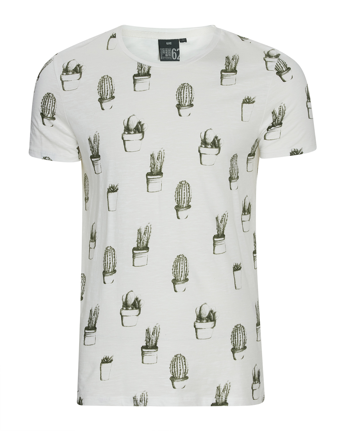 Heren all over cactus print t shirt 79500463 we fashion for T shirt printing delaware