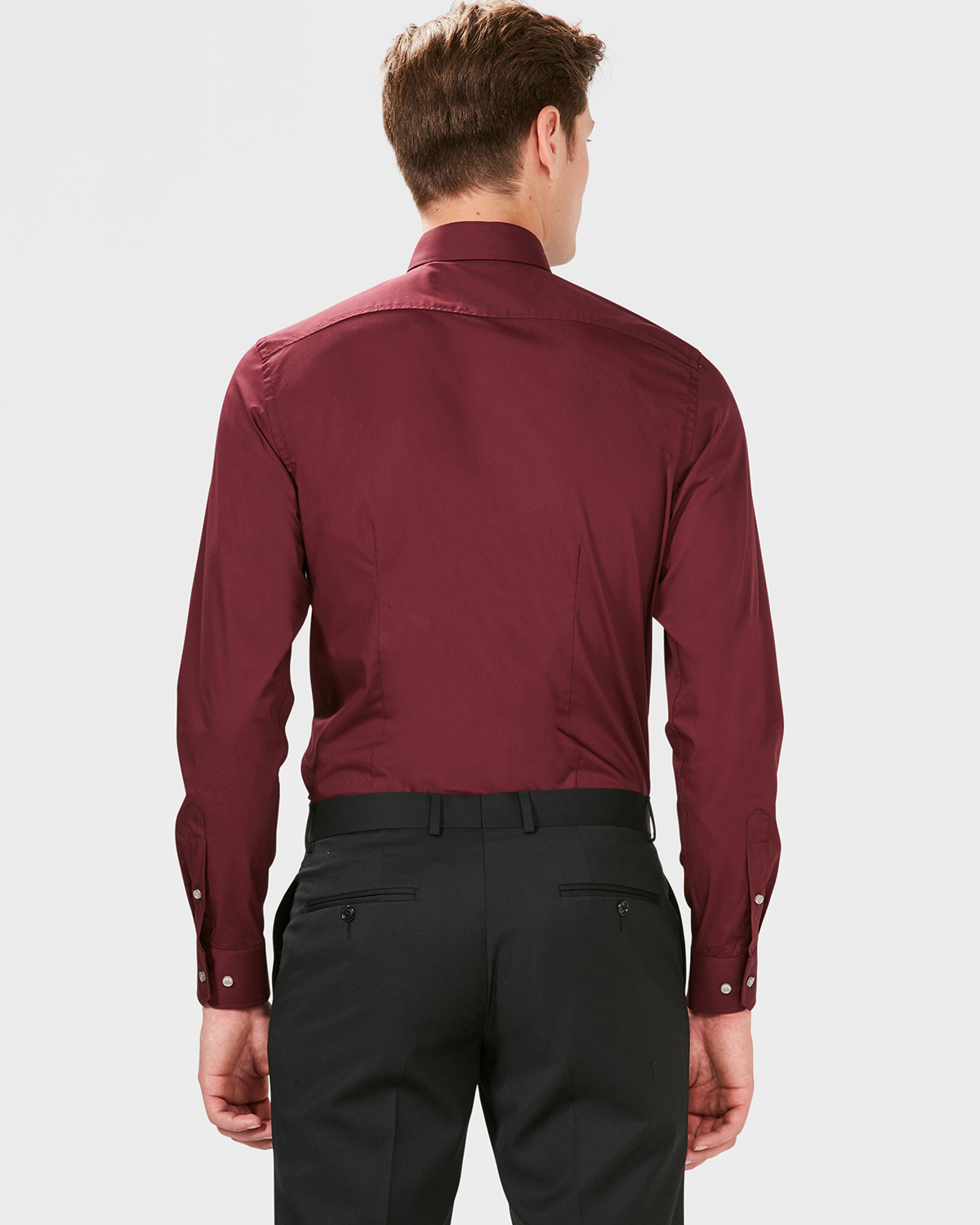 Rood Overhemd Slim Fit.Heren Slim Fit Easy Care Overhemd 79357678 We Fashion
