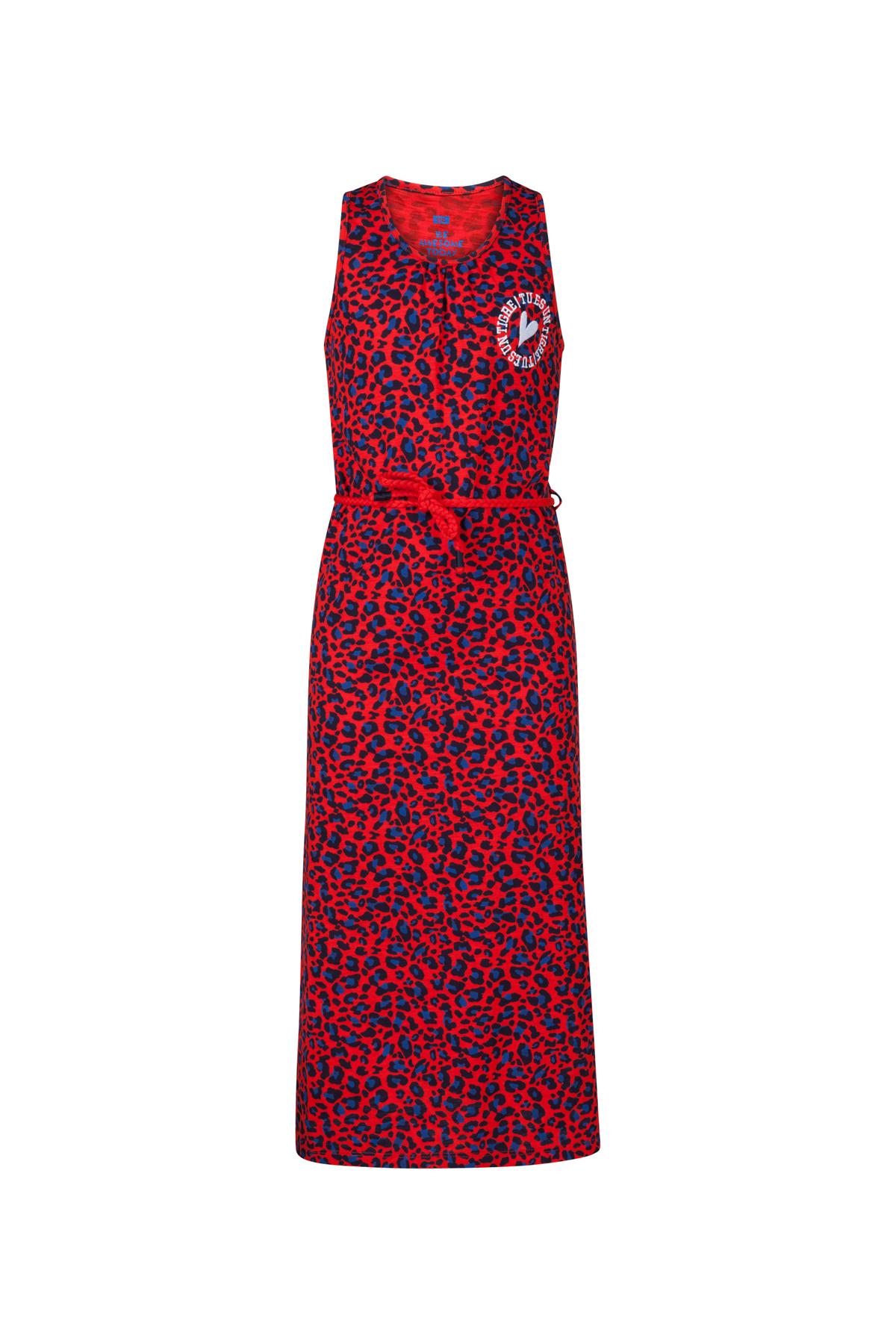 Goede Meisjes luipaarddessin maxi jurk | 94365948 - WE Fashion GG-12