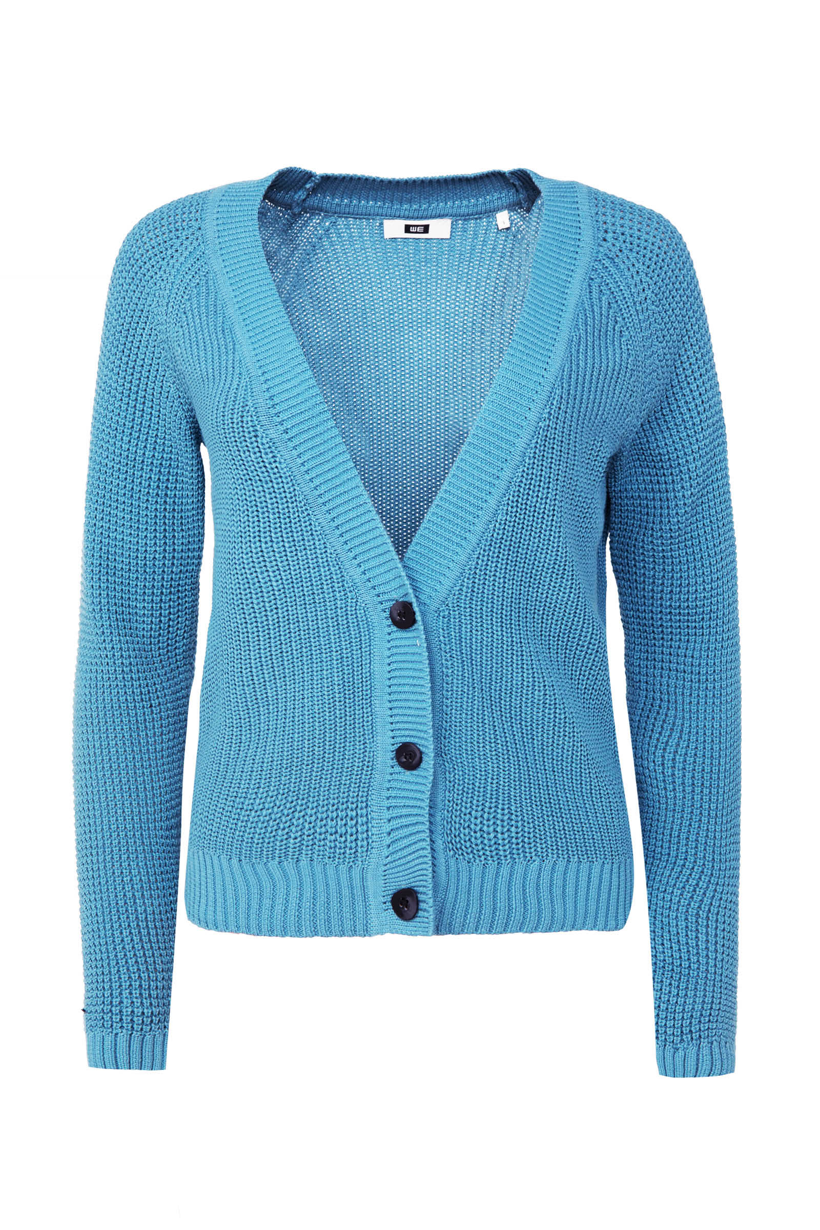 Dames geribd vest | 94949636 WE Fashion